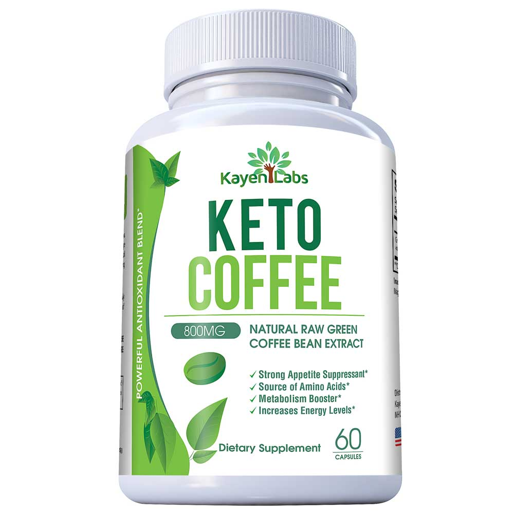 Kayen Labs Keto Coffee 800mg